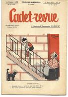 CADET-REVUE - Alain SAIT-OGAN - N°53 - 10/03/1935 - Bon état - BD - ZIG Et PUCE - Andere Tijdschriften