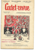 CADET-REVUE - Alain SAIT-OGAN - N°57 - 10/05/1935 - Bon état - BD - ZIG Et PUCE - Andere Tijdschriften