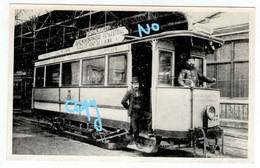 Paris - Gare Montparnasse - Place De L'Etoile - Compagnie Générale Parisienne De Tramways / Tram - Tramways