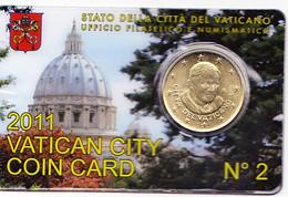 Vatican 0.50 Euro (coin Card) 2011 - Vatican