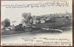 CULLY - BOURG-EN-LAVAUX - BELLE CARTE DE CULLY AVEC BATEAU VAPEUR - 1905 - VD Vaud