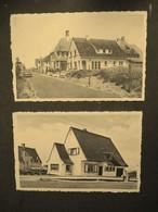 Lot Van 2 Stuks Sepiakleurige Oude Postkaarten   OOSDUINKERKE  --DUINPARK - Oostduinkerke