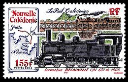 NOUV.-CALEDONIE 2004 - Yv. 913 **   Faciale= 1,30 EUR - Train. Le Rail Calédonien  ..Réf.NCE26635 - Nuovi