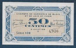 Chambre De Commerce De Blois - 50 Centimes  - Pirot N° 9 - Chamber Of Commerce
