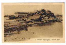 BRIGNOGAN  HOTEL DE LA MER ET LES ROCHERS - Brignogan-Plage