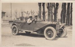 10079-MILLE MIGLIA-1927-PILOTA U. PUGNO-CASALE MONFERRATO-FOTO - Automobili