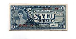 INDONESIE 1 SATU RUPIAH 17.10.1945 - Indonesia