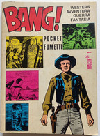 BANG! -POCKET A FUMETTI  N  1 DEL  NOVEMBRE  1974   (CART 49) - Prime Edizioni