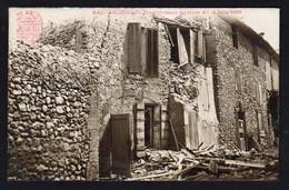 SAINT CANNAT: Plan TOP Sur Une Maison Détruite Lors Du Tremblement De Terre Du 11/06/1909. - Otros Municipios