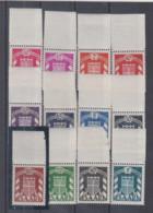 Saarland Dienstmarken MiNo. 33/44 ** (150.-) - Unused Stamps