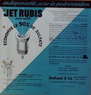 Catalogue-JET RUBIS-(Pulvérisateur De Robineterie)-1936 - 1900 – 1949