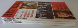 HISTORIA, 3 Numéros HS - 1945-1965 : 20 Ans D'histoire De France EXCELLENT ETAT De Gaulle IVe République Ve République - History