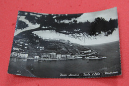 Livorno Isola D' Elba Porto Azzurro + Piroscafo Attraccato 1956 - Livorno