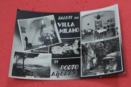 Livorno Isola D' Elba Porto Azzurro LVilla Albergo Milano + Timbro Sul Retro Ufficio Turistico Rag. Tesi Portoferraio NV - Livorno