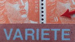 R1491/185 - 1945/1947 - TYPE MARIANNE DE GANDON - N°722f NEUFS** - SUPERBE VARIETE ➤➤➤ Boucle D'oreille (tàn) - Varieties: 1945-49 Mint/hinged