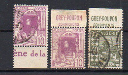 Algérie, Bande Publicitaire : N° 38a X2 + 45b - TOUS ETATS - Otros