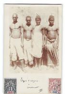 CPA Comores Carte Photo Amateur Types D'Indigenes - Comoros