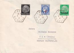 ALSACE-LORRAINE 1941 LETTRE DE GORZE - Elzas-Lotharingen