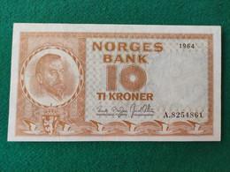 Norvegia 10 Kroner 1964 - Norway