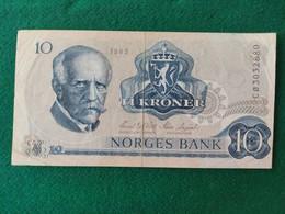 Norvegia 10 Kroner 1983 - Norway
