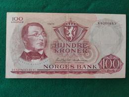 Norvegia 100 Kroner 1977 - Norway
