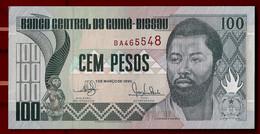 GUINEA-BISSAU BANKNOTE - 100 PESOS 1990 P#11 UNC (NT#02) - Guinea-Bissau