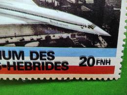Belle Variété Du TP Concorde Nouvelles Hébrides RR - Concorde