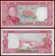 Laos Banknote 500 Kip (1974) Pic#17a Unc (NT#02) - Laos