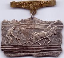 SELTENE Alte Große Wandermedaille / Volksmarschmedaille Von SELIGENPoRTEN / Bayern  1975 - Souvenir-Medaille (elongated Coins)