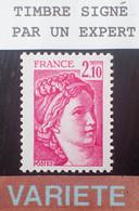 Dpe/8 - 1977/1978 - TYPE SABINE DE GANDON - N°1978b NEUF** LUXE - VARIETE ➤➤➤ Sans PHO / Signé CALVES Expert - Varieties: 1970-79 Mint/hinged