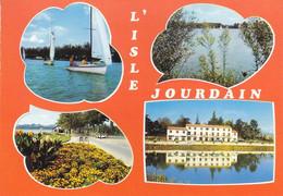 32 GERS - L'ISLE JOURDAIN - 4535 L'Hôtel Du Lac Et Le Lac - Sonstige Gemeinden