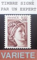 Dpe/9 - 1977/1978 - TYPE SABINE DE GANDON - N°1979b NEUF** LUXE - VARIETE ➤➤➤ Sans PHO / Signé CALVES Expert - Varieties: 1970-79 Mint/hinged