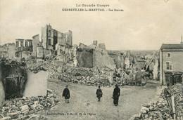 CPA - GERBEVILLER-LA-MARTYRE - LES RUINES IMPECCABLE) - Gerbeviller