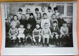 PHOTO CLASSE WASSY - 52 - ECOLE GARCONS En 1951  - 4 SCANS - Scuole