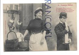 """Premier Amour. N°3: """"Il Est Navré, Pauvre Potache..."""" Marcel Houjan - Bergeret"""