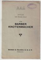 Barber Knotenmacher Katalog Der Enzelteile Barber & Colman München Elsässer Kirchberg Berne - Machines