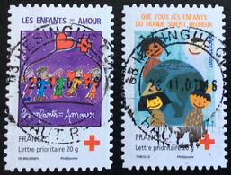 TIMBRES   DE    FRANCE   N° 145/146     OBLITÉRÉS  ( LOT: 7003) - KlebeBriefmarken