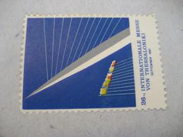 THESSALONIKI Thessalonika Saloniki Salonica Fair Messe 1961 Poster Stamp Vignette GREECE Label - Other