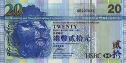 Hong Kong (HSBC) 20 HK$ (P207) 2009 -UNC- - Hong Kong