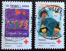 TIMBRES   DE    FRANCE   N° 145/146     OBLITÉRÉS  ( LOT: 7008) - KlebeBriefmarken