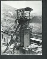 Gard. Photo 24cm X 18cm Du Chevalet De La Mine Des Oulles à La Grand Combe - Places