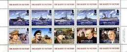 BIOT, 2005, THE ROUTE OF VICTORY, YV#317-26, MNH - British Indian Ocean Territory (BIOT)
