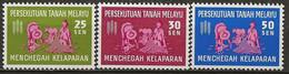 MALAISIE: **, N° YT 111 à 113, Série, TB - Federation Of Malaya