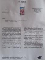 DOCUMENT DE LA POSTE  1976  N° 37  THIERS  (Puy De Dôme, Historique) - Documents Of Postal Services