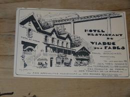 Hotel Restaurant Du VIADUC DES FADES ................201101-3255 - Sin Clasificación