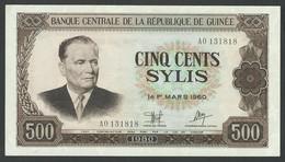 GUINEA. 500 SYLIS. 1980. Pick 27a. UNC / NEUF - Guinea