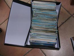 LOT DE + DE 600 CARTES POSTALES 10X15 ( VRAC ) - 500 CP Min.