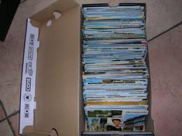 LOT DE + DE 600 CARTES POSTALES 10X15  Dentelée Couleur ( VRAC ) - 500 Postcards Min.