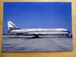AIR FRANCE  CARAVELLE  F-BJTS - 1946-....: Era Moderna