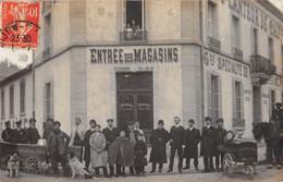 21 - CPA Photo DIJON  Entrée Des Magasins Planteur De Caiffa RARE - Dijon